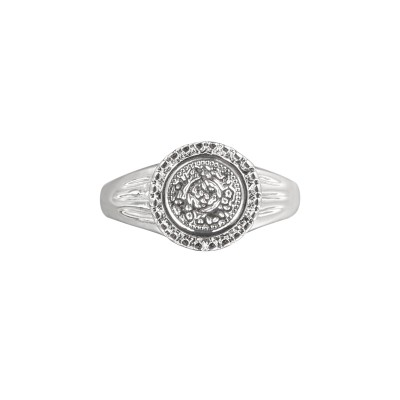 Coin Ring Silver