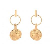 roma face earrings