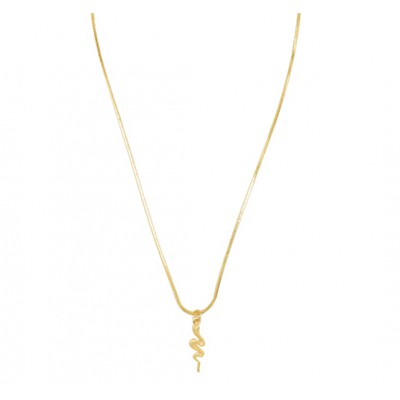 Special Snake Necklace Gold